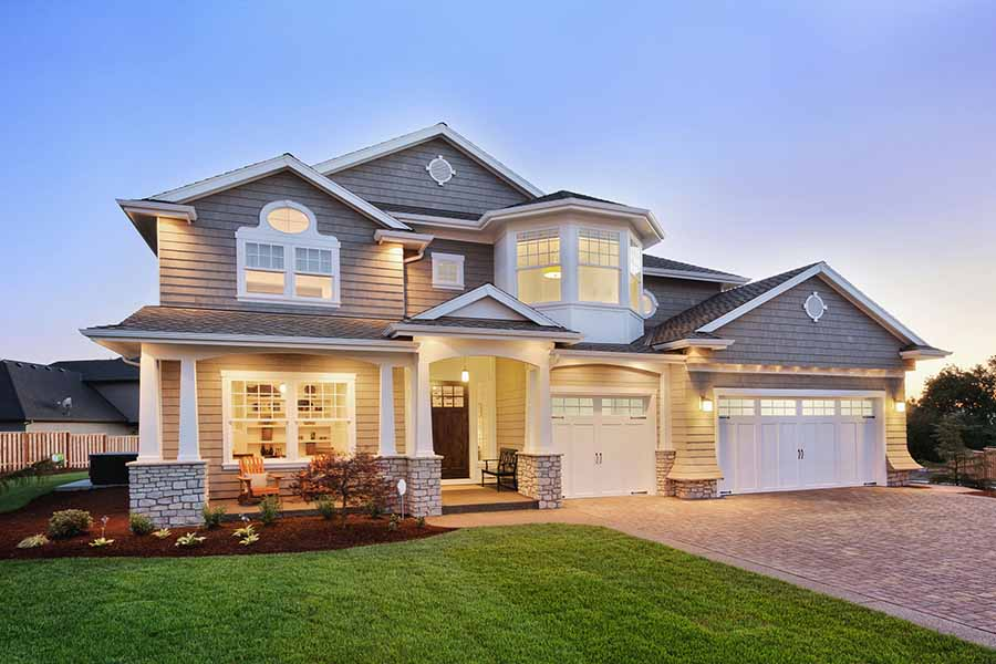 House with Homeowners Insurance by Rivas Insurance Group